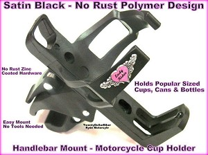 Motorcyle Cup Holder - Lady Rider